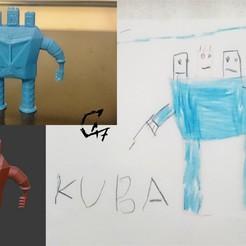 Télécharger plan imprimante 3D gatuit Figurine du monde enfant 3, c47