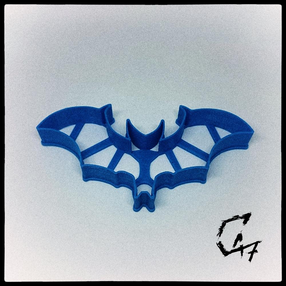 Bloodwars-cookie_3.jpg Download free STL file Bloodwars bat cookie cutter • 3D print design, c47