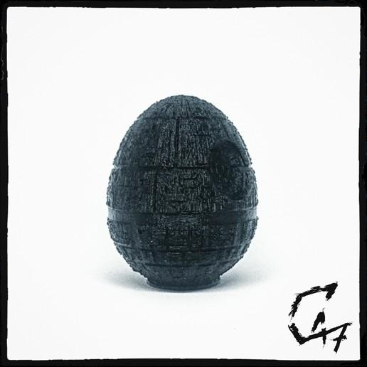 Download free STL files EggStar (Easter Egg Death Star), c47