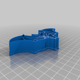 Download free 3D printing designs Bloodwars bat cookie cutter, c47