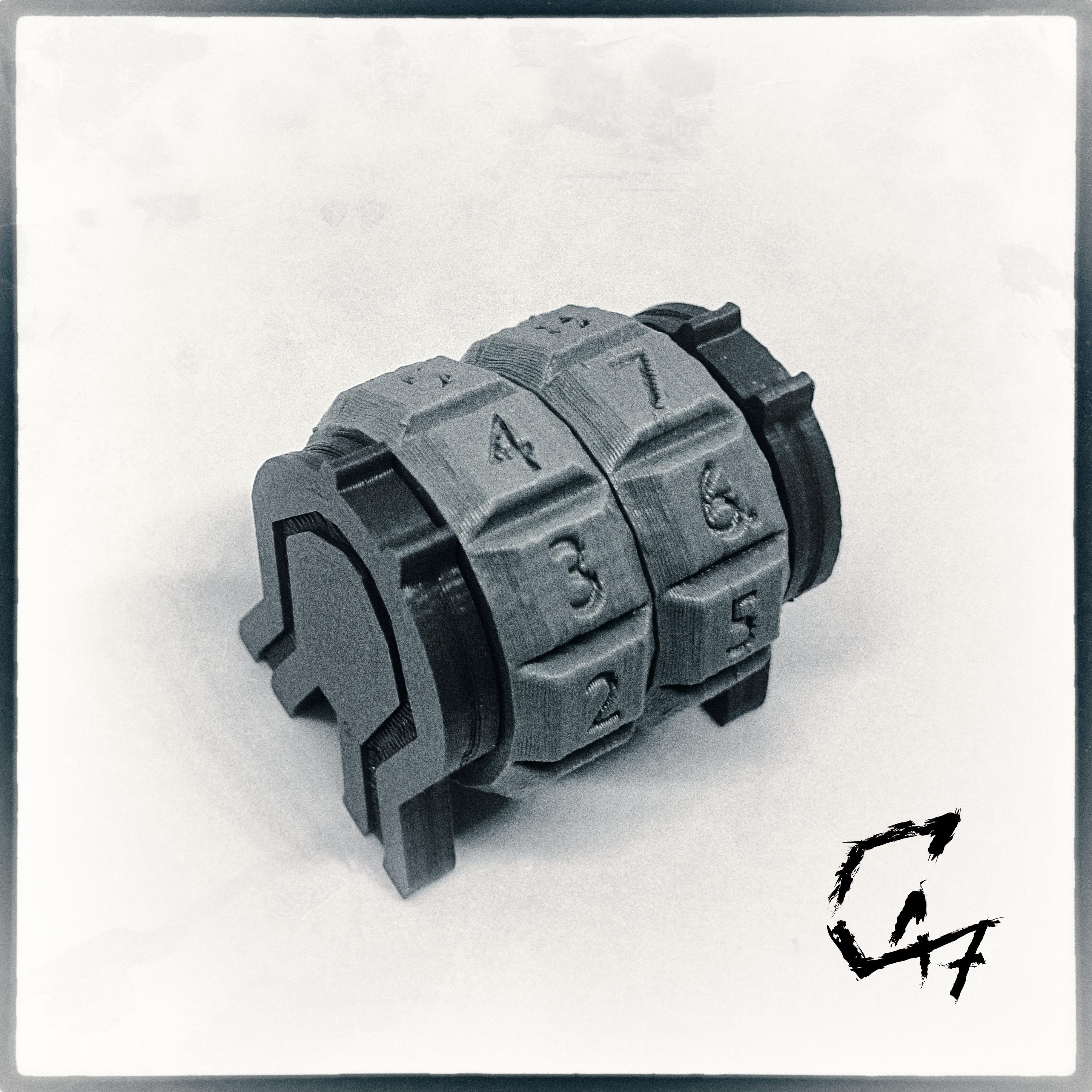 Counter2.jpg Download STL file Clicking modular life counter • 3D print model, c47