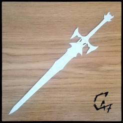 Bloodwars 2h sword_bookmark_1a.jpg Download free STL file Bloodwars Two-handed Sword Bookmarks • 3D printing template, c47