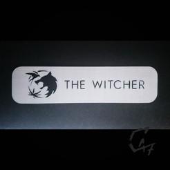 JG_bookmark_witcher.jpg Télécharger fichier STL gratuit Le signet Witcher • Modèle pour imprimante 3D, c47