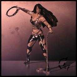 Bloodwars Beastmaster Female - render_C.jpg Télécharger fichier STL gratuit Bloodwars - Figurine de Beastmaster • Design à imprimer en 3D, c47