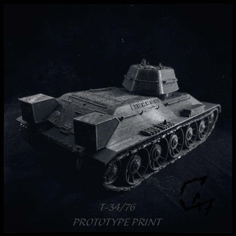 T-34-76-prototype_back.jpg Télécharger fichier STL T-34/76 pour l'assemblage, avec voies mobiles • Objet pour imprimante 3D, c47
