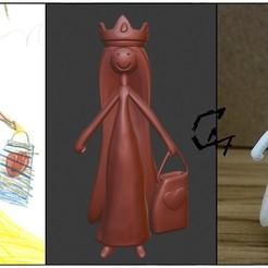 Télécharger plan imprimante 3D gatuit Figurine Monde Enfant 4, c47