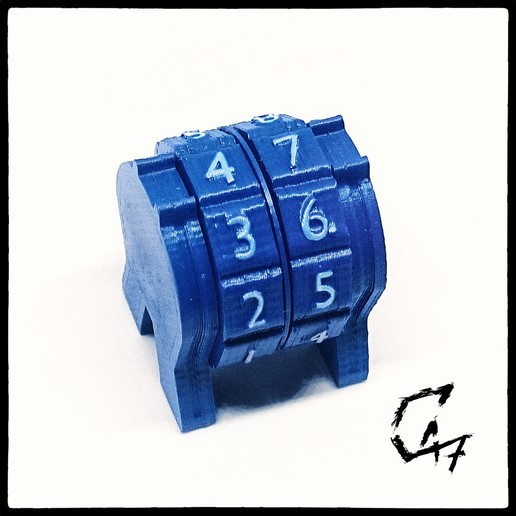Counter.jpg Download STL file Clicking modular life counter • 3D print model, c47