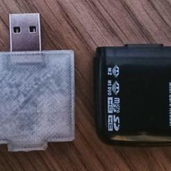 Télécharger objet 3D gratuit Etui pour lecteur de cartes Diluant, c47