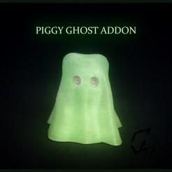 Impresiones 3D gratis Ghost - disfraz para Piggy, c47