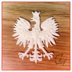Download free 3D printing designs Erne ('Eagle') - Polish Emblem, c47