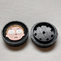 Download 3D print files Grinder Rick and Morty, pablosanchezv17