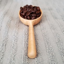 20200926_101731.jpg Download STL file Wooden Coffee Scoop CNC File, Batching Models and Jigs Included! • 3D print design, SoCalWoodcraft