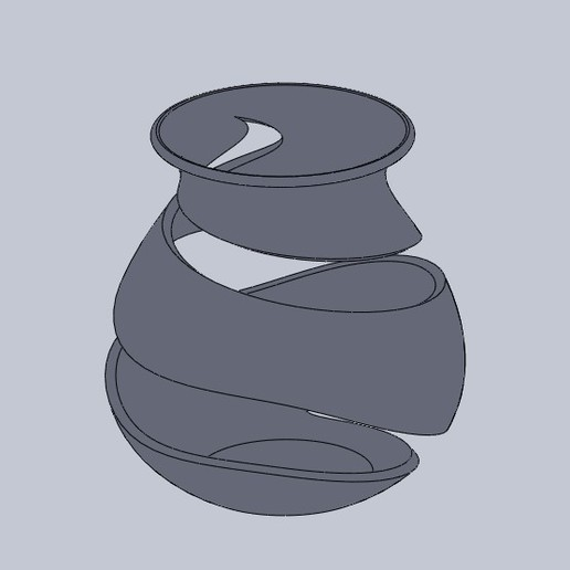 Vase art 1.jpg Télécharger fichier STL gratuit Vase Art 2 • Plan pour impression 3D, Scorpio3D