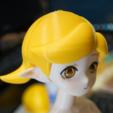 Télécharger fichier 3D gratuit Poupée articulée à aimant style Kasca_Pièces allongées_Perruque cheveux courts, all-kasca