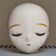 kasca2.png Télécharger fichier STL gratuit Poupée articulée à aimant style Kasca_Pièces allongées_Princesse endormie • Plan pour impression 3D, all-kasca