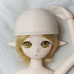 Download free 3D printing files Kasca-style magnet joint doll_Extended parts_Helmet, all-kasca