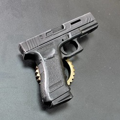 Download STL files Glock 17 Slide Airsoft, JAYCOMBATTECH