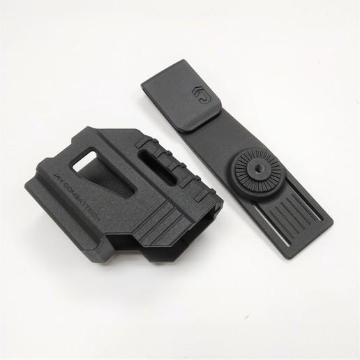 Download 3D printer designs Hi-Cap Holster, JAYCOMBATTECH
