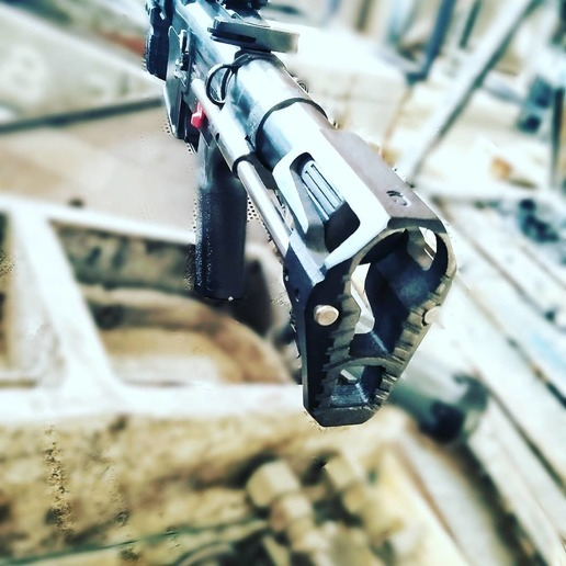 Download 3D print files Arcturus Stock and Long Battery Box, JAYCOMBATTECH