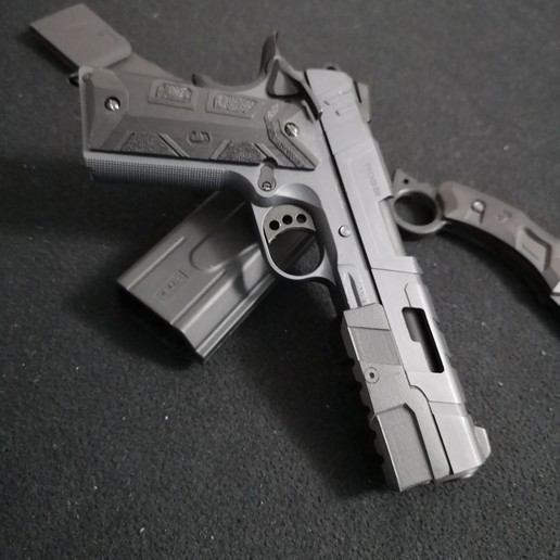Download 3D printing templates 1911 Lateral Grips, JAYCOMBATTECH