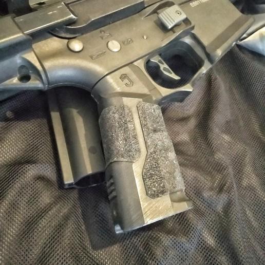 Download 3D printer designs Pistol grip, JAYCOMBATTECH