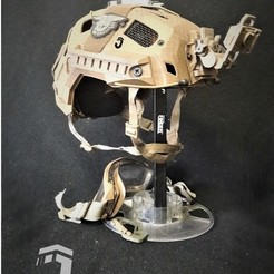 "Download 3D printer files JAY ""A"" HELMET, JAYCOMBATTECH"