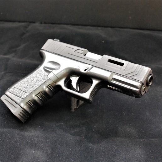 Download 3D printing templates Glock23 Custom Kit, JAYCOMBATTECH