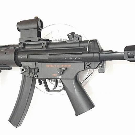 Download 3D printing designs MP5- SD Custom kit (Handguard rails, flashider, stock, suppressor), JAYCOMBATTECH