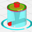 Supports.PNG Download free STL file Filament Spool Cufflinks • 3D printable object, Stot
