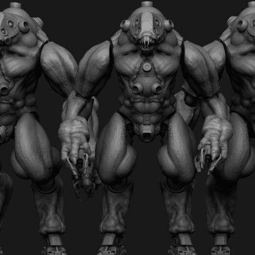 JOTUN.png Download STL file NECRONAUTS: Jotun action figure • 3D printing template, necronautsstudios
