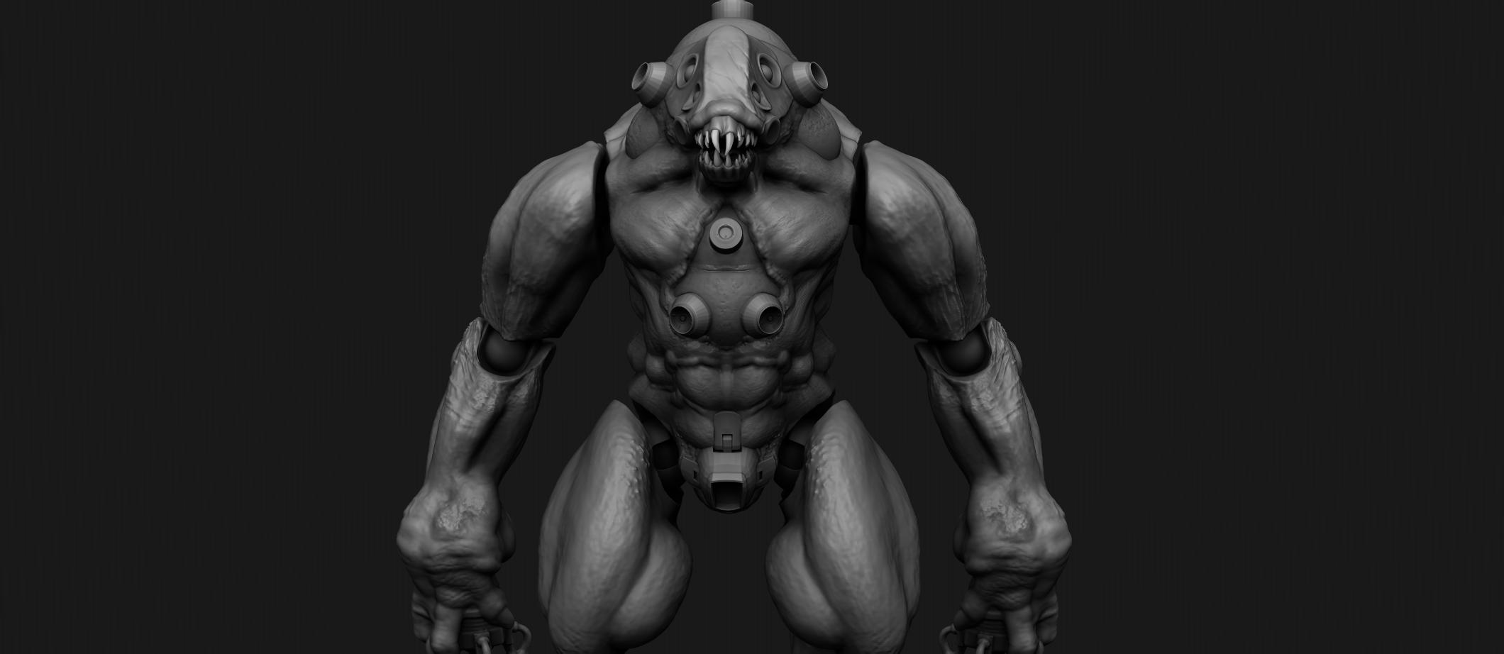 bigmanbigboyman.png Download STL file NECRONAUTS: Jotun action figure • 3D printing template, necronautsstudios