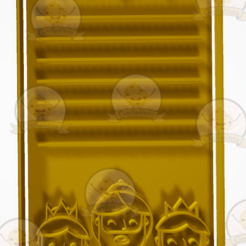 carta 1.PNG Download STL file Set of cookie cutters and markers for the Three Kings card • Object to 3D print, hebert1642