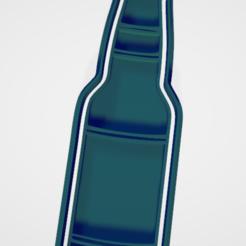 Descargar archivo 3D Cortador de galletas y fondat botella cerveza marcas, hebert1642