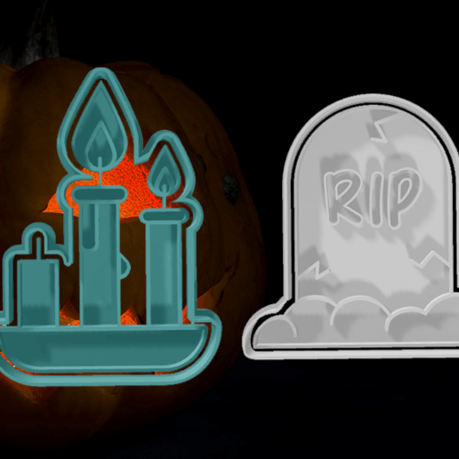Download Stl File Halloween Cutters Pack 3 Object To 3d Print Cults