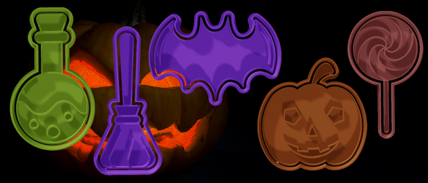 Download Stl File Halloween Cutters Pack 2 3d Printable Object Cults