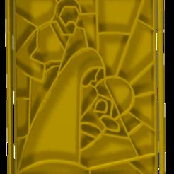 vitral.PNG Télécharger fichier STL Jeu de cutters et de marqueurs pour la naissance de biscuits ou de vitraux fondants • Modèle imprimable en 3D, hebert1642