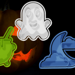 PACK 4.png Download STL file HALLOWEEN CUTTERS PACK 4 • 3D print model, hebert1642