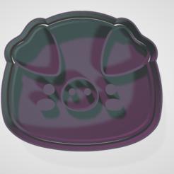 Download 3D printing templates Cookie-cutting and fondant animal set, hebert1642