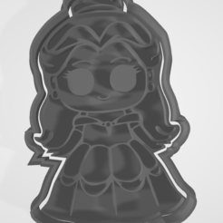 1.PNG Télécharger fichier STL Coupeuses pour biscuits ou princesses fondatrices • Objet pour imprimante 3D, hebert1642