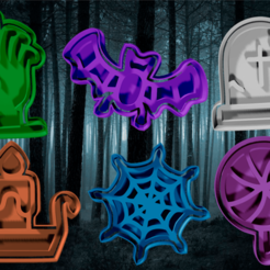 1 completo.png Download STL file cookie cutter and fondant Halloween 1 • 3D printer design, hebert1642