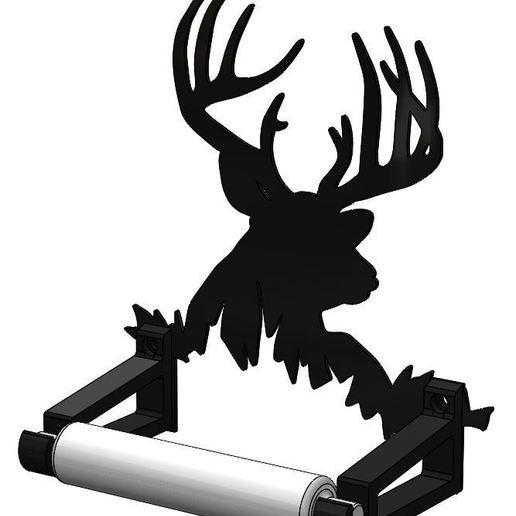 Descargar modelos 3D para imprimir Portapapeles Gigante Buck TP, designedxclint