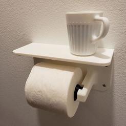 Impresiones 3D Estante de baño, designedxclint