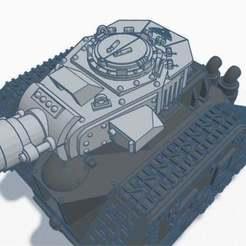 LemonRustTurret.jpg Télécharger fichier STL gratuit Tourelle de char de science-fiction Lemon Rust • Plan pour impression 3D, conusa
