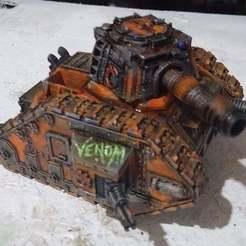 IMG_20190411_162053_2.jpg Télécharger fichier STL gratuit Le char hybride Alien rouillé par le démon • Modèle pour impression 3D, conusa