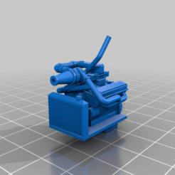 ChevyWTurbov01.png Télécharger fichier STL gratuit Turbo V8 Hot Wheels • Objet pour imprimante 3D, conusa