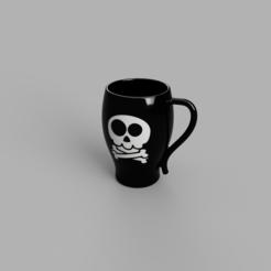 Descargar diseños 3D Taza Pirata, dinglob