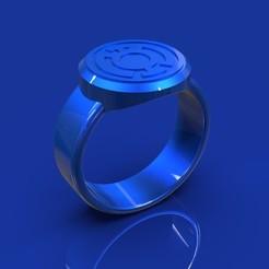 azul.20.jpg Télécharger fichier 3DS Lanterne bleue • Design imprimable en 3D, DINGLOB