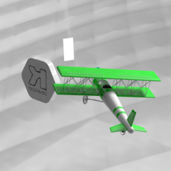 pre4.PNG Download 3DS file Decorated Airplane Movable in print • Design to 3D print, ronaldocc13