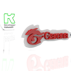 Download free 3D printing files Garena logo free fire gaming new, ronaldocc13