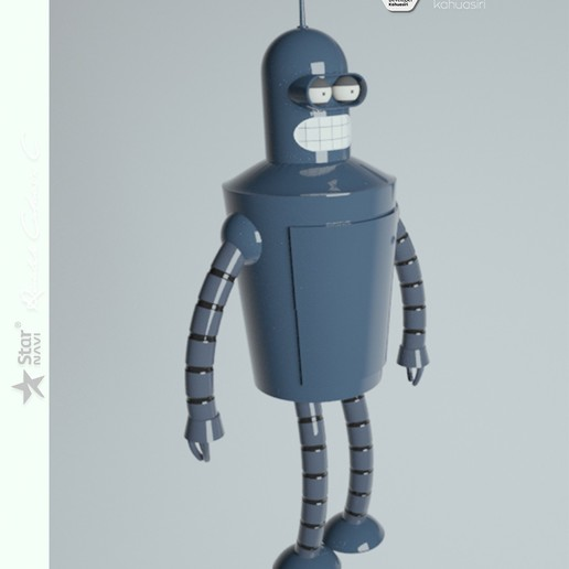 10 pub.jpg Télécharger fichier 3DS gratuit Blender Futurama 2020 personnage ICONICO viral • Plan pour imprimante 3D, ronaldocc13